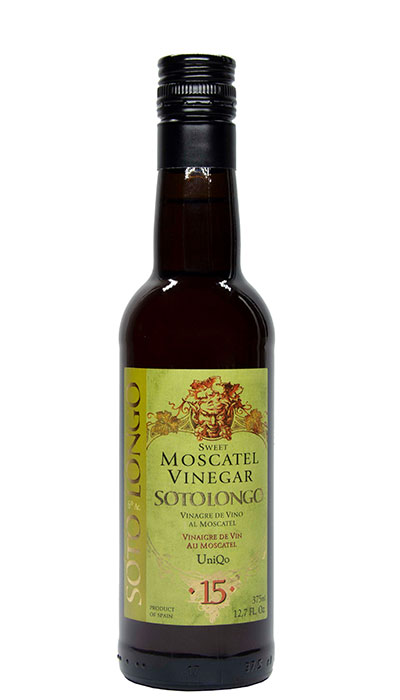 Sweet or Balsamic Vinegar with Moscatel Sotolongo
